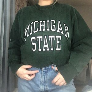 Steve & Barry's Tops - Michigan State Crewneck